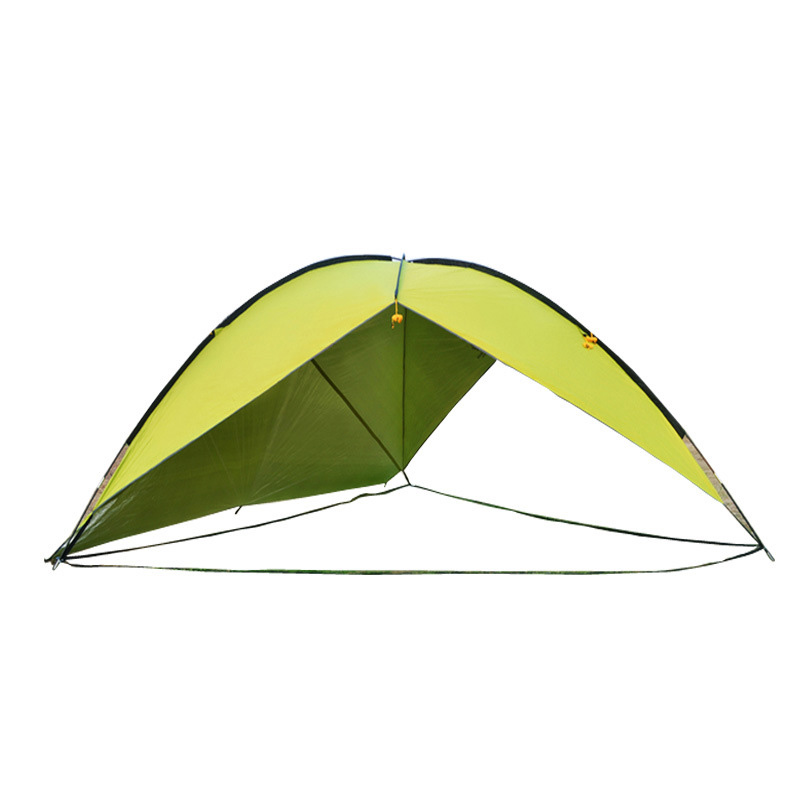Outdoor Large Three-sided Tent Sunshade Canopy Awning Beach Sun Shelter Rainproof Anti-UV Shed Camping Hiking