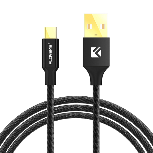 FLOVEME Nylon Woven Micro USB Data Charging Cable 1.2m for Samsung S7 Edge Huawei 6X Redmi Note 4
