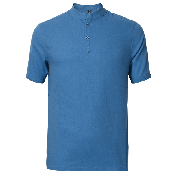 Buy Mens Casual Long-style T-shirts Fashion Comfortable Breathable Cotton Linen T-shirt