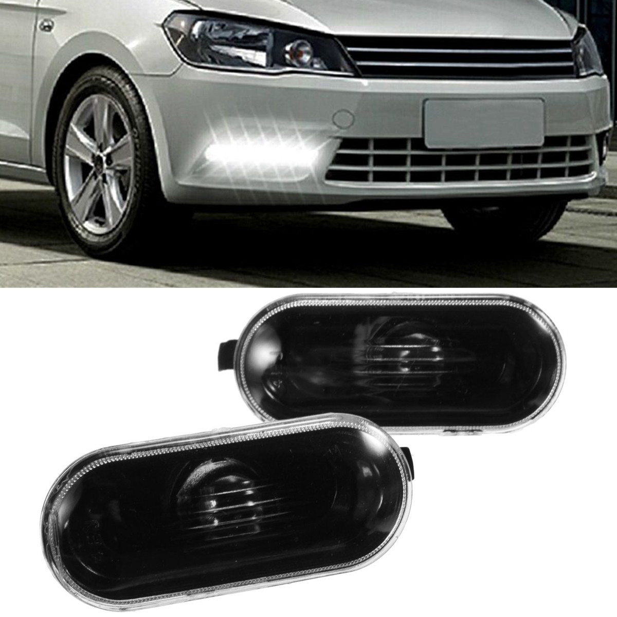 Buy Pair Side Marker Lights(NO Bulbs) for Volkswagen Passat B5/B5.5 Golf /Jetta MK4