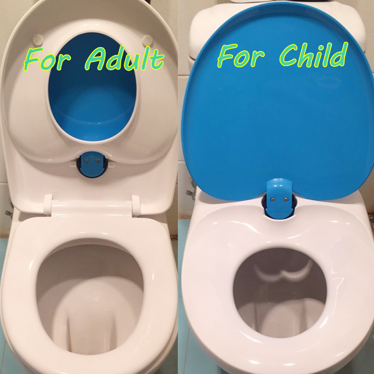 Family Toilet Seat 2 In 1 For Kids Child Toddler Adult