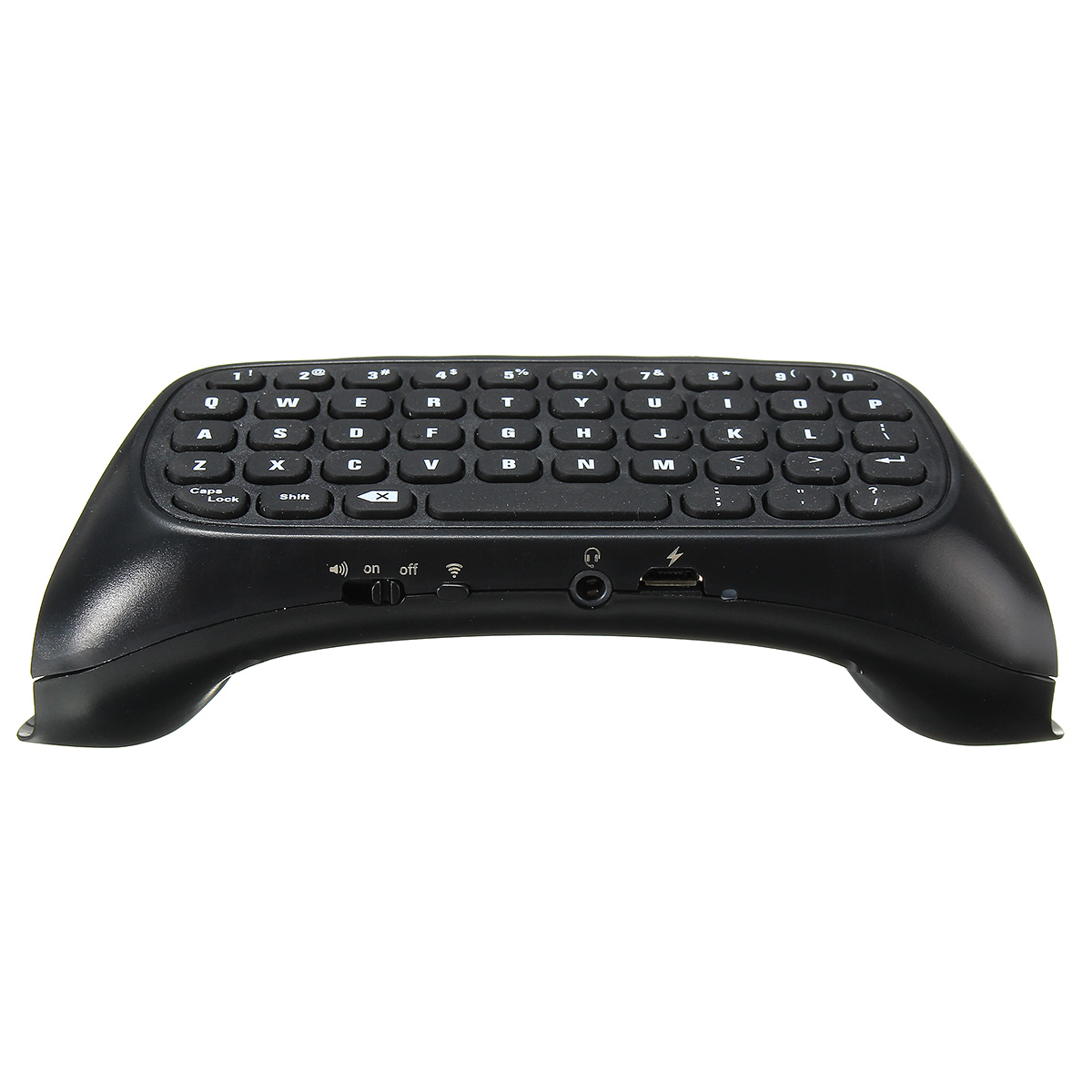 Buy 2.4G Mini Wireless Keyboard With USB Receiver For PS4 Slim Controller Black