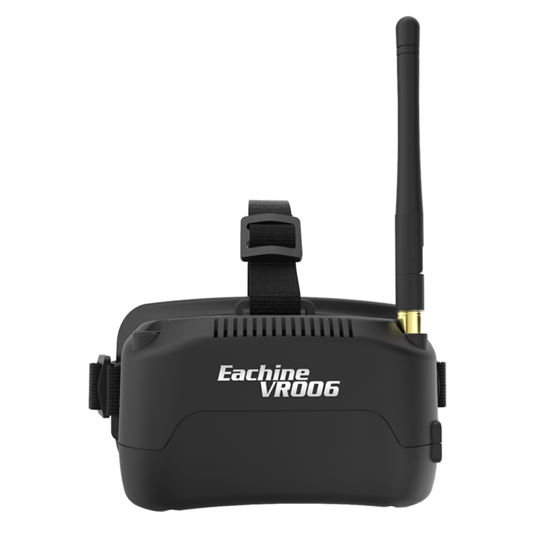 Eachine E013 VR006 VR-006 One-antenna 3 Inch 5.8G 40CH Mini FPV Goggles Build in 3.7V 500mAh Battery