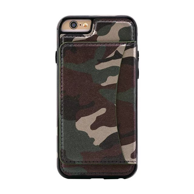 TPU Shockproof Dropproof Kickstand Back Case Cover With Card Slot For iPhone 6 6s 4.7 Inch