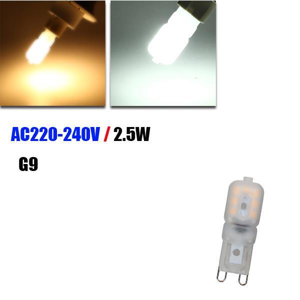 Buy G9 2.5W LED Bulb 14 SMD 2835 200LM Energy Saving Pure White/Warm White Light Lamp AC 220-240V