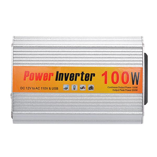 Buy SGR-NX1012 Car Auto Power Inverter Converter Adapter 100W DC12V to AC110V Output
