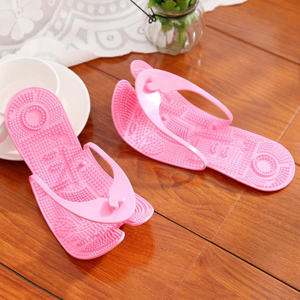 Indoor Casual Massage Slip On Flip Flops Home Slippers