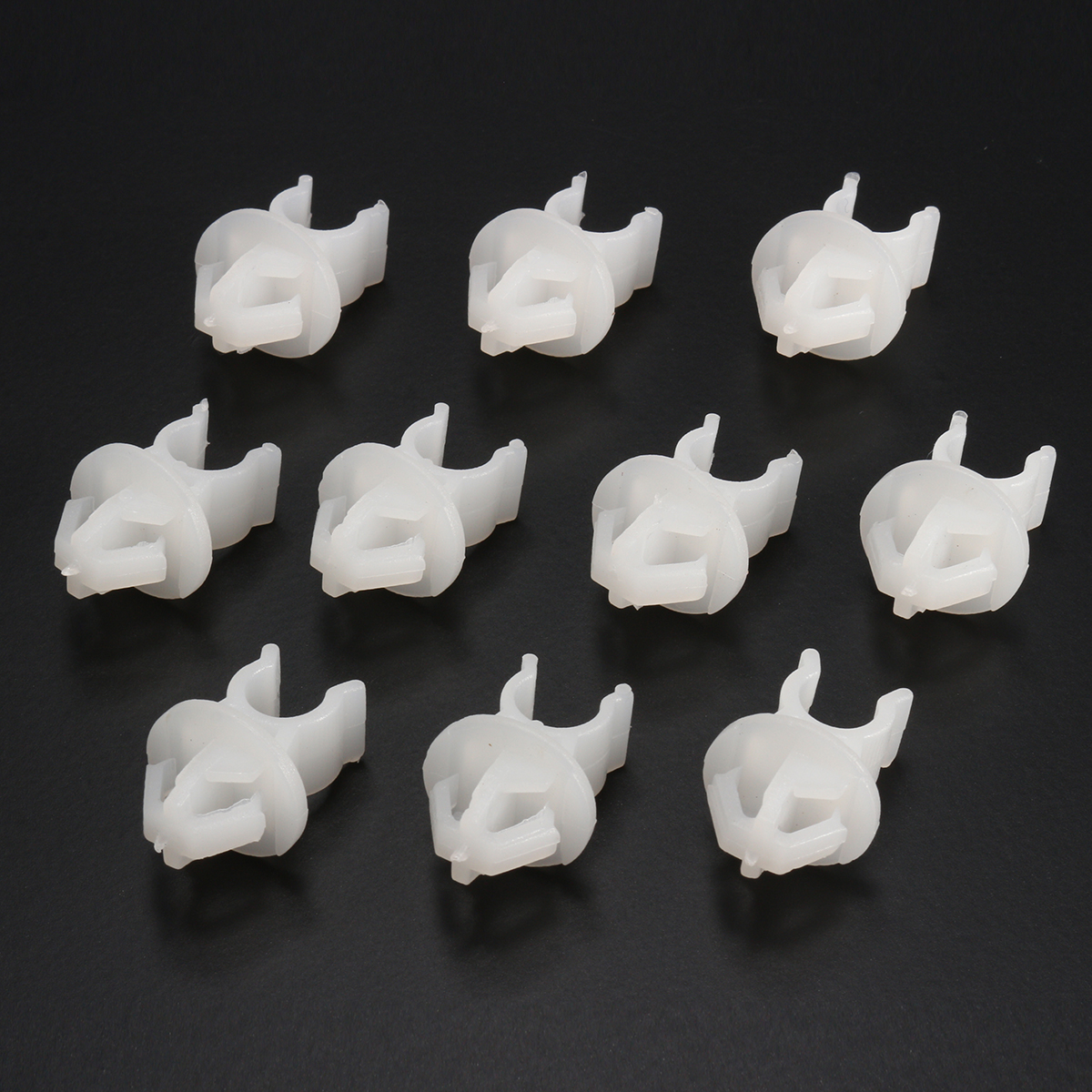 30pcs ABS Car Hood Bonnet Prop Rod Clip Trim Support Cl