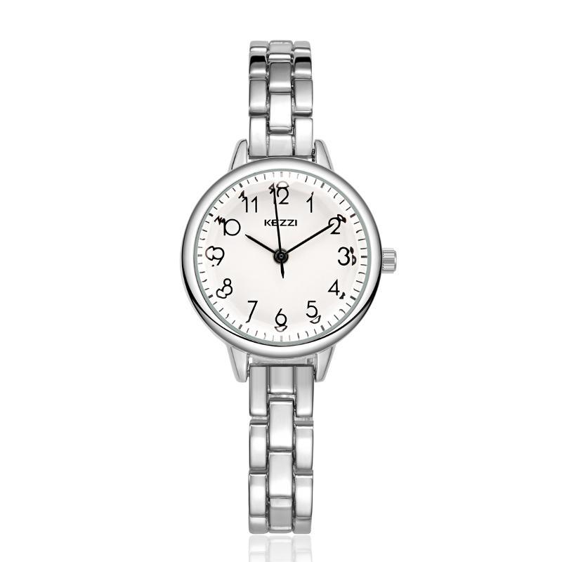 KEZZI Fashion Mujer reloj de cuarzo elegante colores Dial Ladies pulsera reloj