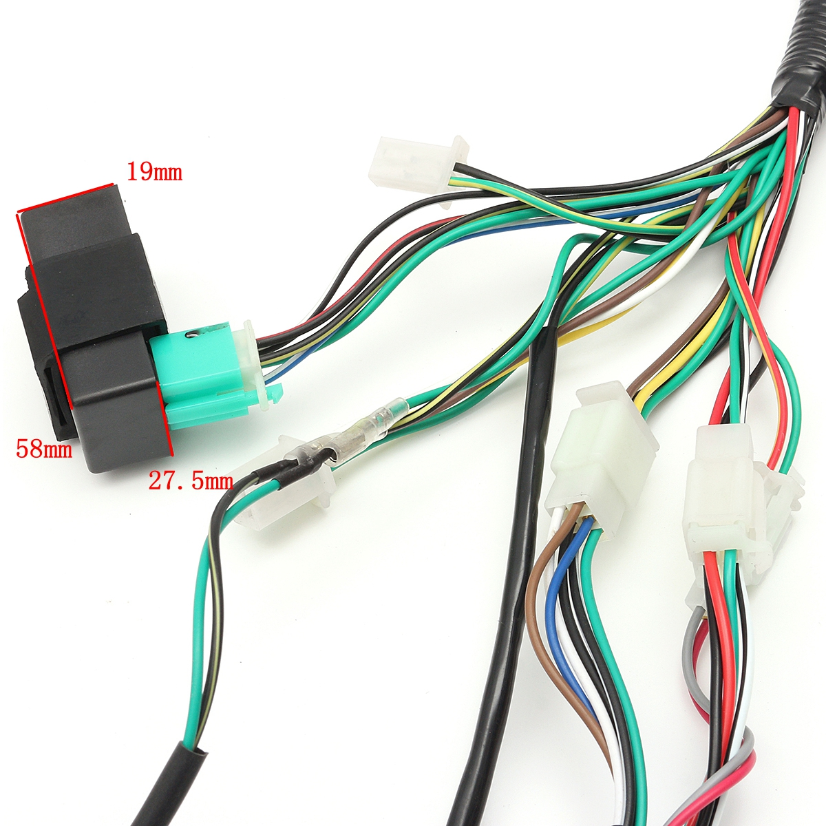 Pocket Bike Wiring Cdi Data Diagrams 50cc Diagram Harness Loom Solenoid Coil Rectifier 70cc Manual Scooter
