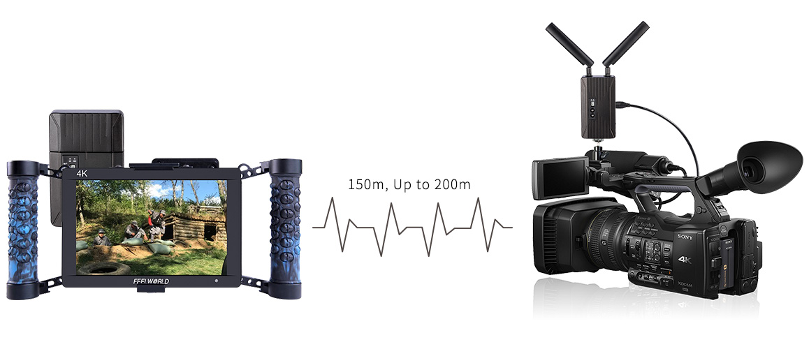 SEETEC WHD151 150m HD Video Transmission FPV System Supports 3G/HD/SD-SDI/-DMI HD Port