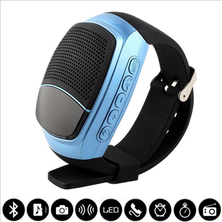 B Hifi Watch Bluetooth . Multifunciones Wristband Outdooors Mini Music Speaker Smart