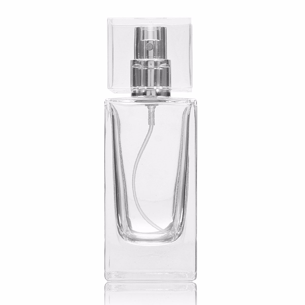 Refillable Empty Perfume Spray Container Bottle Glass F