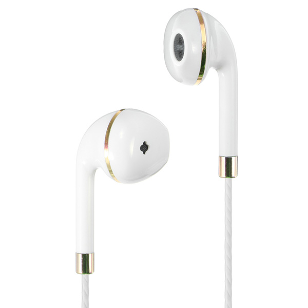 LAPU LP-X6 Universal 3.5mm Wired Control Noise Cancelling Heavy Bass Earphone Witn Mic