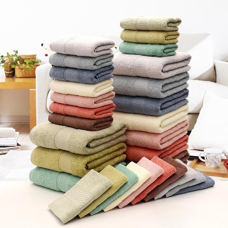 Shower Towel Broke: KCASA KC-X2 100% Cotton Solid Bath Towel Fast Drying Soft