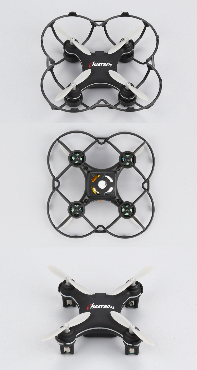 Cheerson CX-10SE CX10SE Mini 3D Flips 2.4G 4CH 6 Axis LED RC Quadcopter RTF - Photo: 9