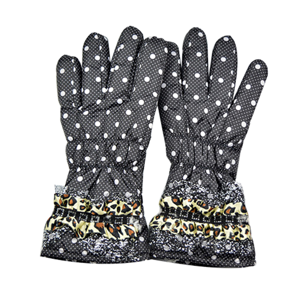 Full Finger Outdoor Cycling Motorcycle Gloves Riding Winter Women 11cm/4.33in