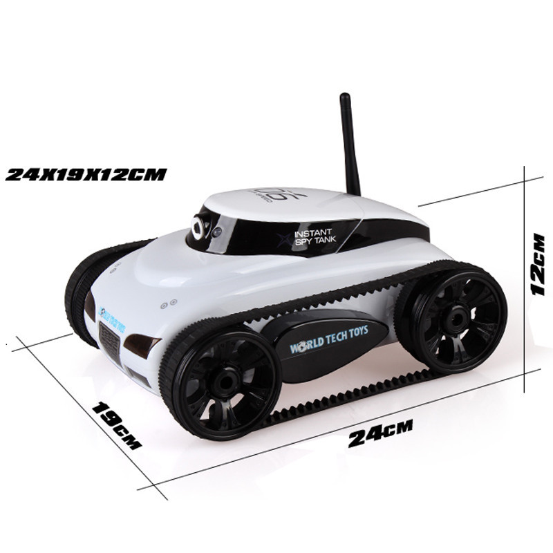 JJRC 777-27 Remote Control Mini WiFi RC Car With Camera Support IOS Phone Android Real-time Tank Toy
