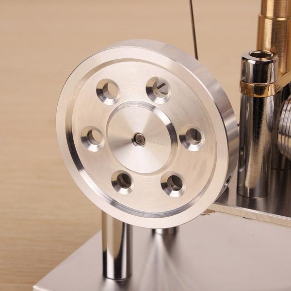 Balance Stirling Engine Model External Combustion Engine - Photo: 6