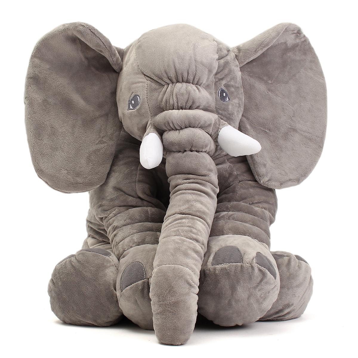 Elephant Stuffed Toy : ″ cm cute jumbo elephant plush doll stuffed animal