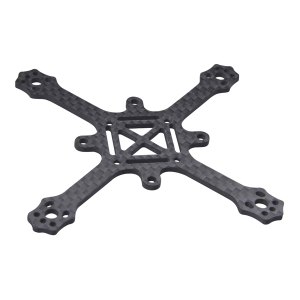Gemfan Whirly 95mm Wheelbase 2mm Arm Carbon Fiber FPV Racing Drone Frame Kit 19.6g