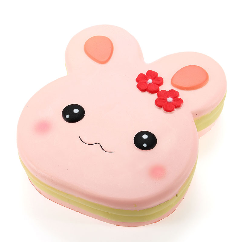 Squishy Collection Squishy : NO NO Squishy Rabbit Cake 13cm Slow Rising With Packaging Collection Gift Decor Soft Toy Sale ...