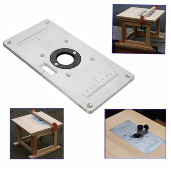 235mm x 120mm x 8mm aluminum router table insert plate benches image is loading 235mm x 120mm x 8mm aluminum router table greentooth Choice Image
