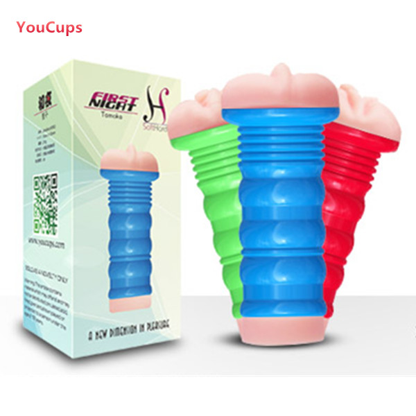 YouCups First Night Virgin ReverseMould Vagina Masturbator Cup Sex Toy For Man