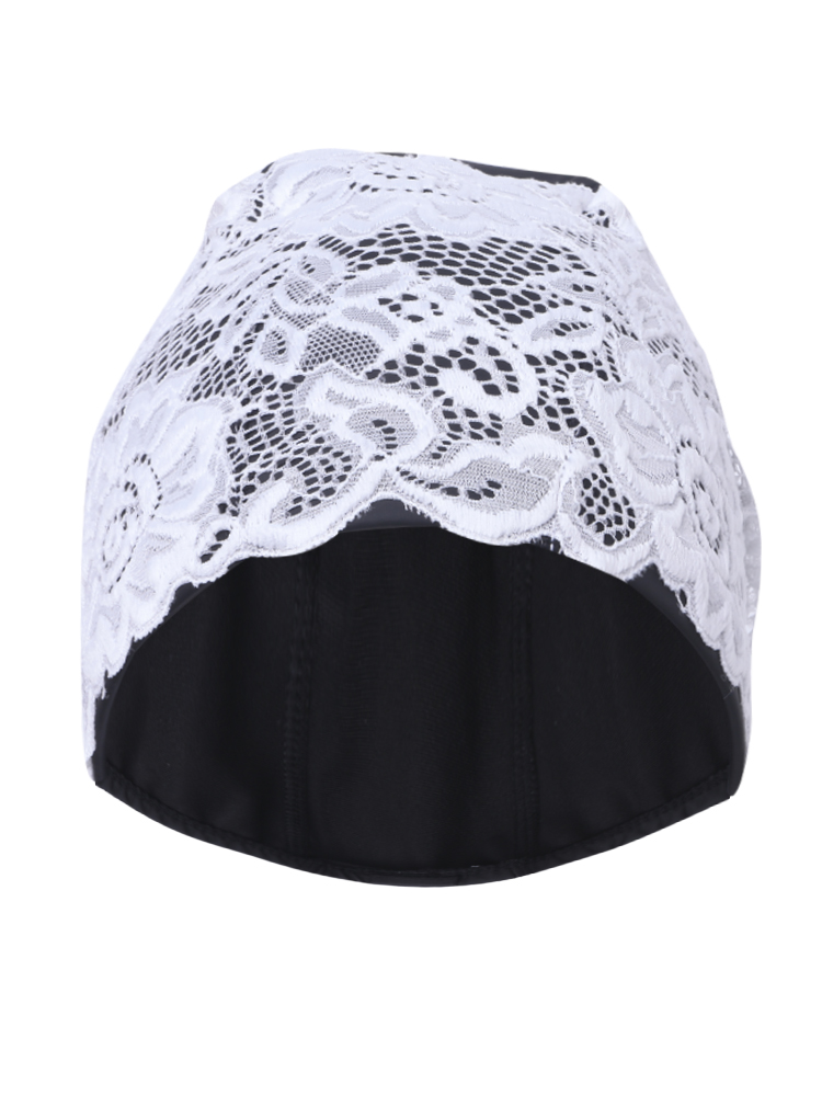 44fa23079 PU EE98E6F17 Professional Waterproof Comfortable Paddy Lace Embroidery  Women Adult Swimming Cap CE60D449D32 Fashion Womens