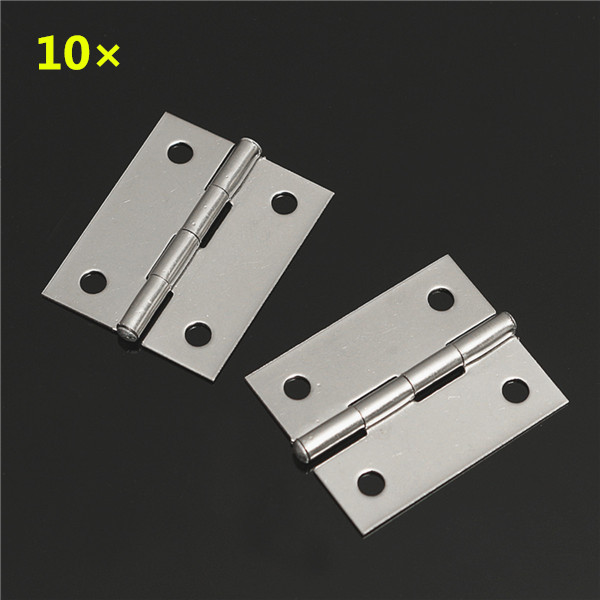 Flip And Fold Rolling Table Stainless Steel Wood: 10pcs Stainless Steel Flip Hinge Flush Mount Hinge Table