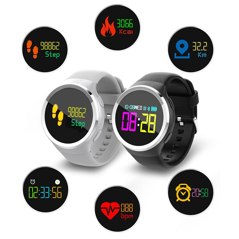 KALOAD Q Pantalla táctil color Corazón Tasa de presión arterial Monitor Impermeable