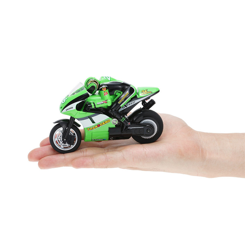 SHENGQIWEI Mini On Road Motor Bike Electric RC Motorcycle Remove Controlled Car