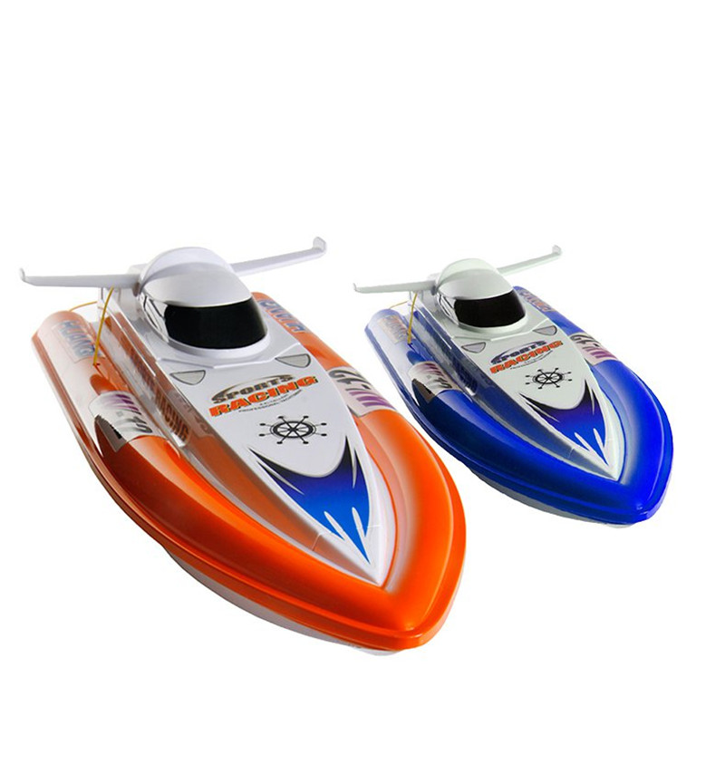 Huanqi 951B 2.4G 4CH 40cm 15KM/h RC Racing Boat With Double Motor Electric Ship Model Toys