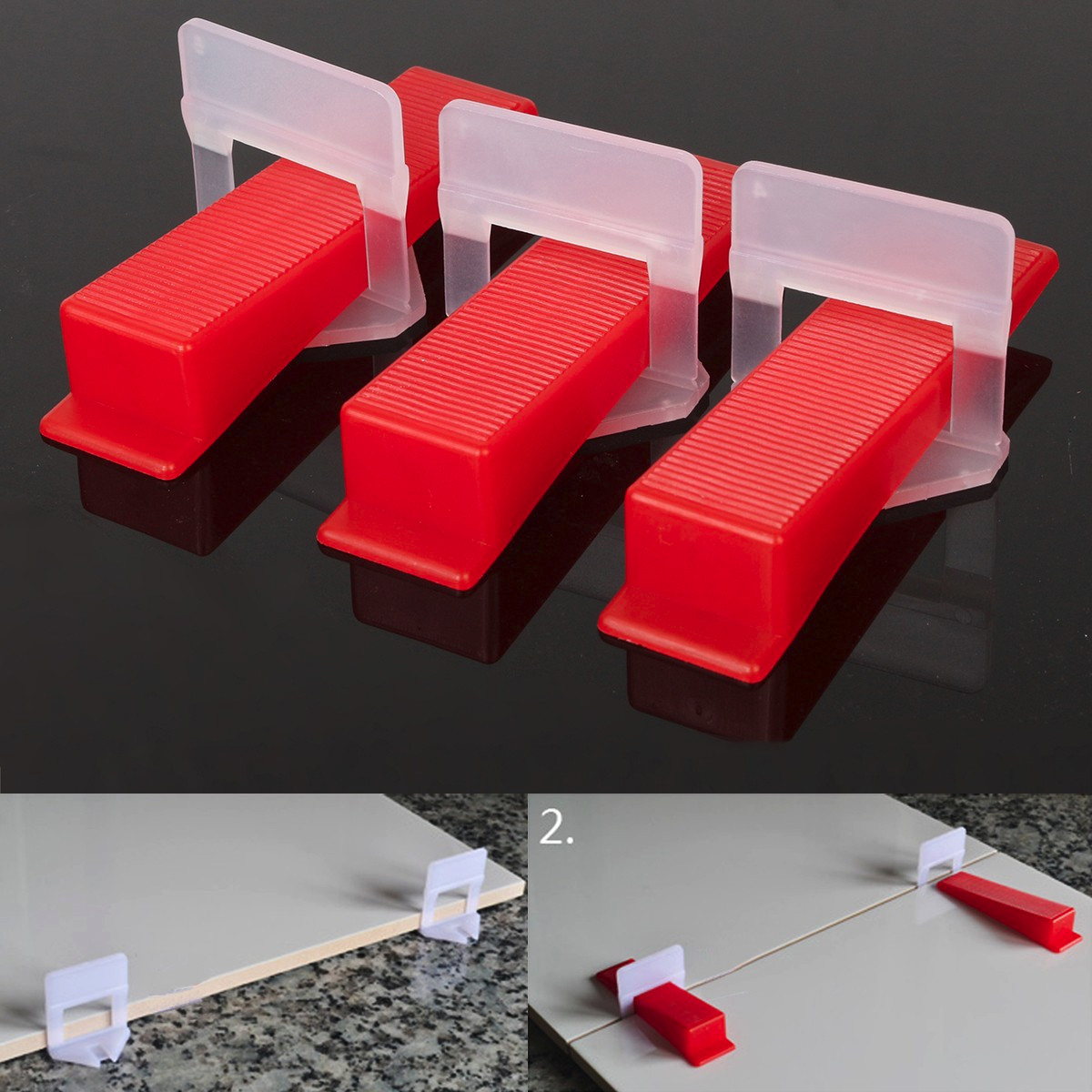 800pcs Tile Leveling Spacer System Construction Tool