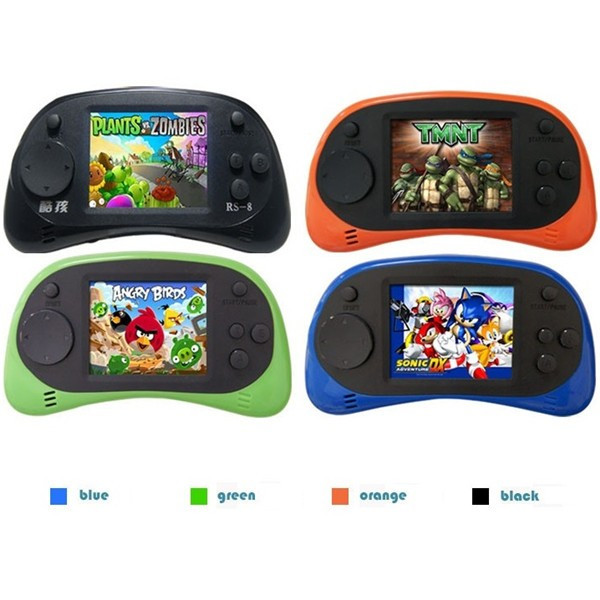 Buy Coolboy RS-8 8Bit 2.5inch Screen Built-in 260 Different Classic Games Handheld Game Consoles with AV Cable