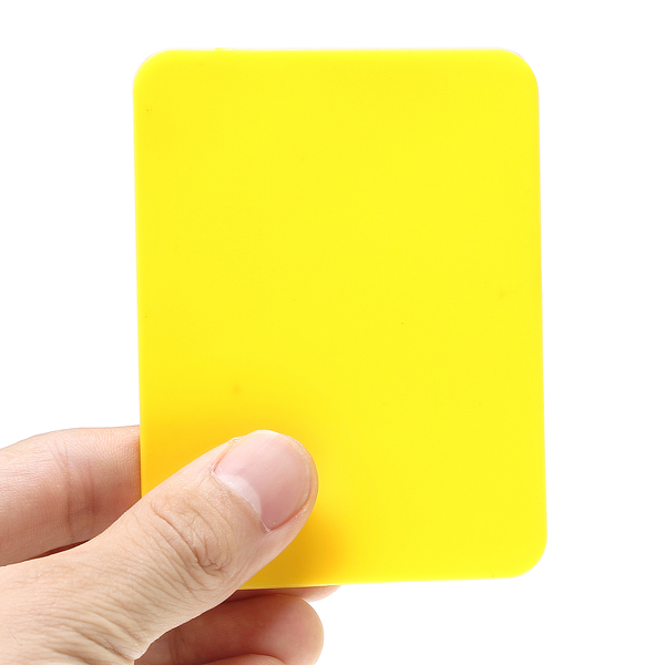 Soccer Champion Yellow And Red Card Referee Warning Card ...