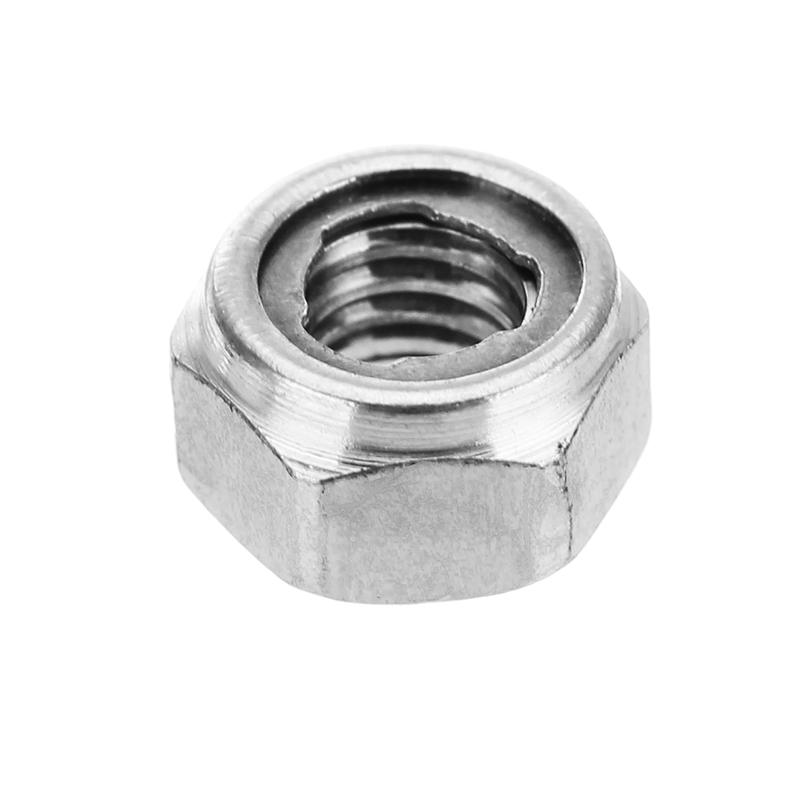 Self Locking Nut >> 10Pcs M4 304 Stainless Steel Hex Self Locking Nuts Anti ...