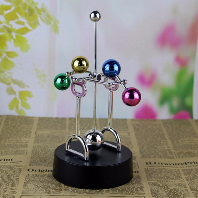 Decoration Cosmos Perpetual Motion Kinetic Toy Newton's Cradle Desk Toy Gift - Photo: 9