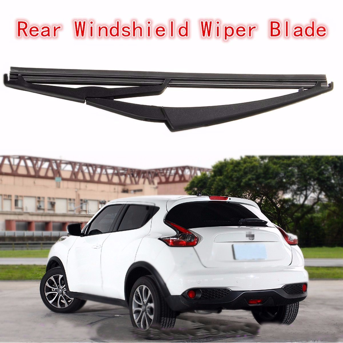 Rear windshield wiper arm with blade for 2008 2013 nissan rogue rear windshield wiper arm with blade for 2008 2013 nissan rogue 2011 2014 juke vanachro Gallery