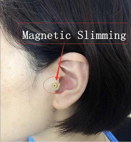 Magnetic Slimming Health Ear Stud Clip Loose Weight Unisex Earrings Jewelry