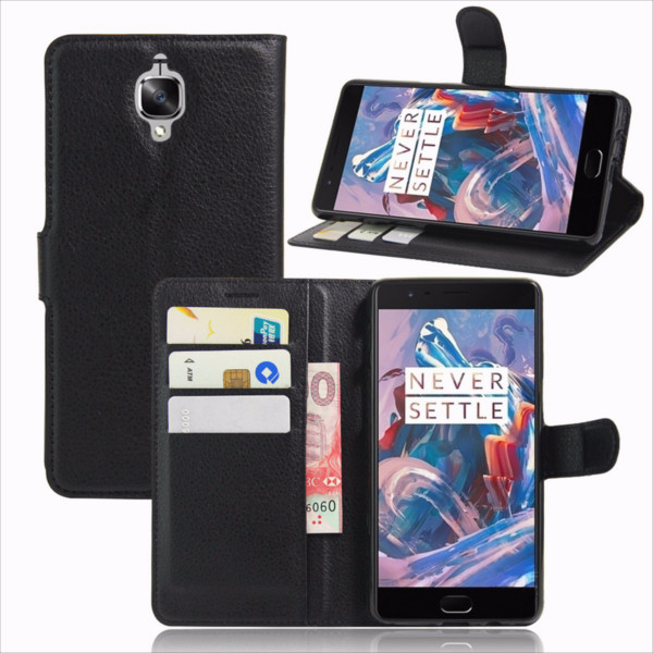 Buy Magnetic Flip Leather Wallet Card Case Stand Cover For OnePlus 3/3T