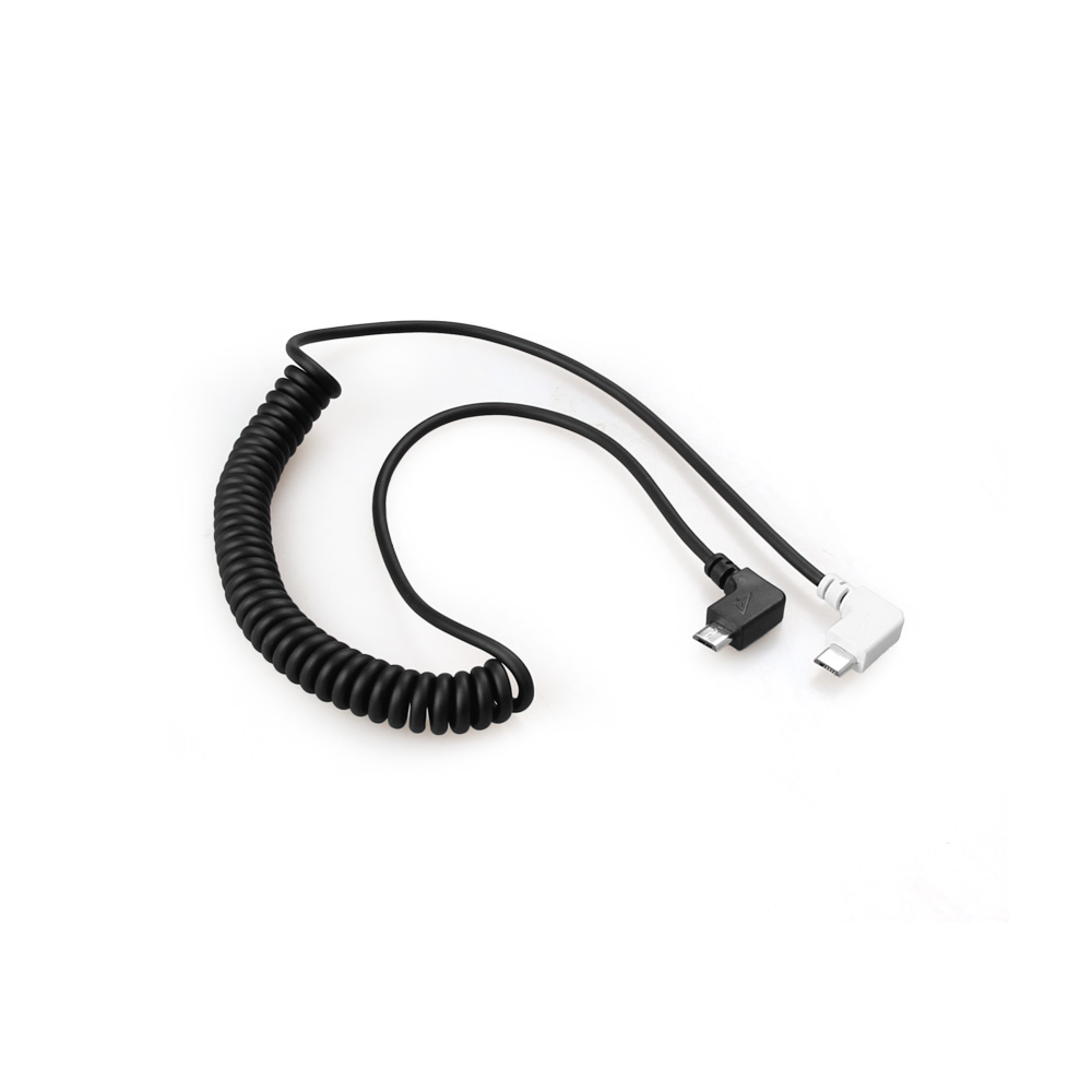 Micro USB Data Cable Flexible Spring Wire for DJI Goggles VR Glasses DJI Spark Transmitter