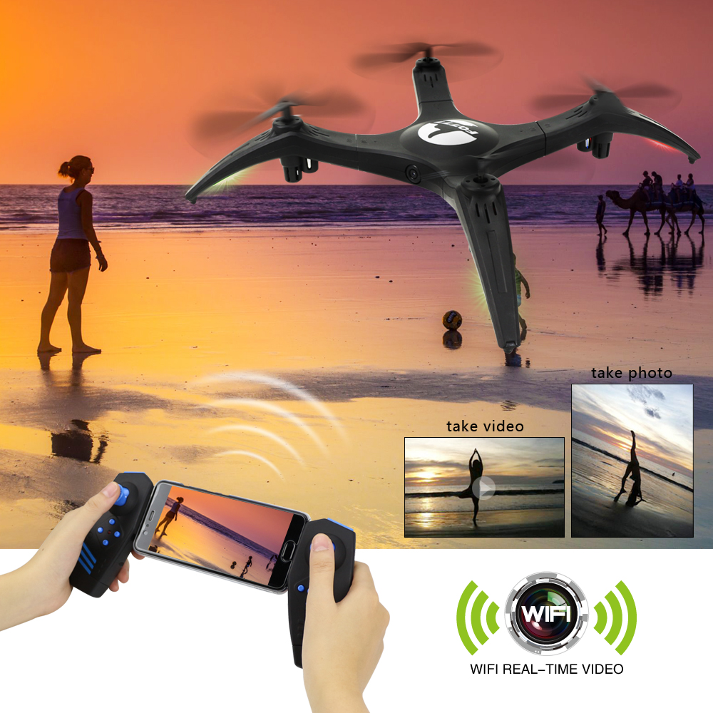 FQ777 FQ29W WIFI FPV With 720P HD Camera High Hold Mode RC Drone Quadcopter RTF