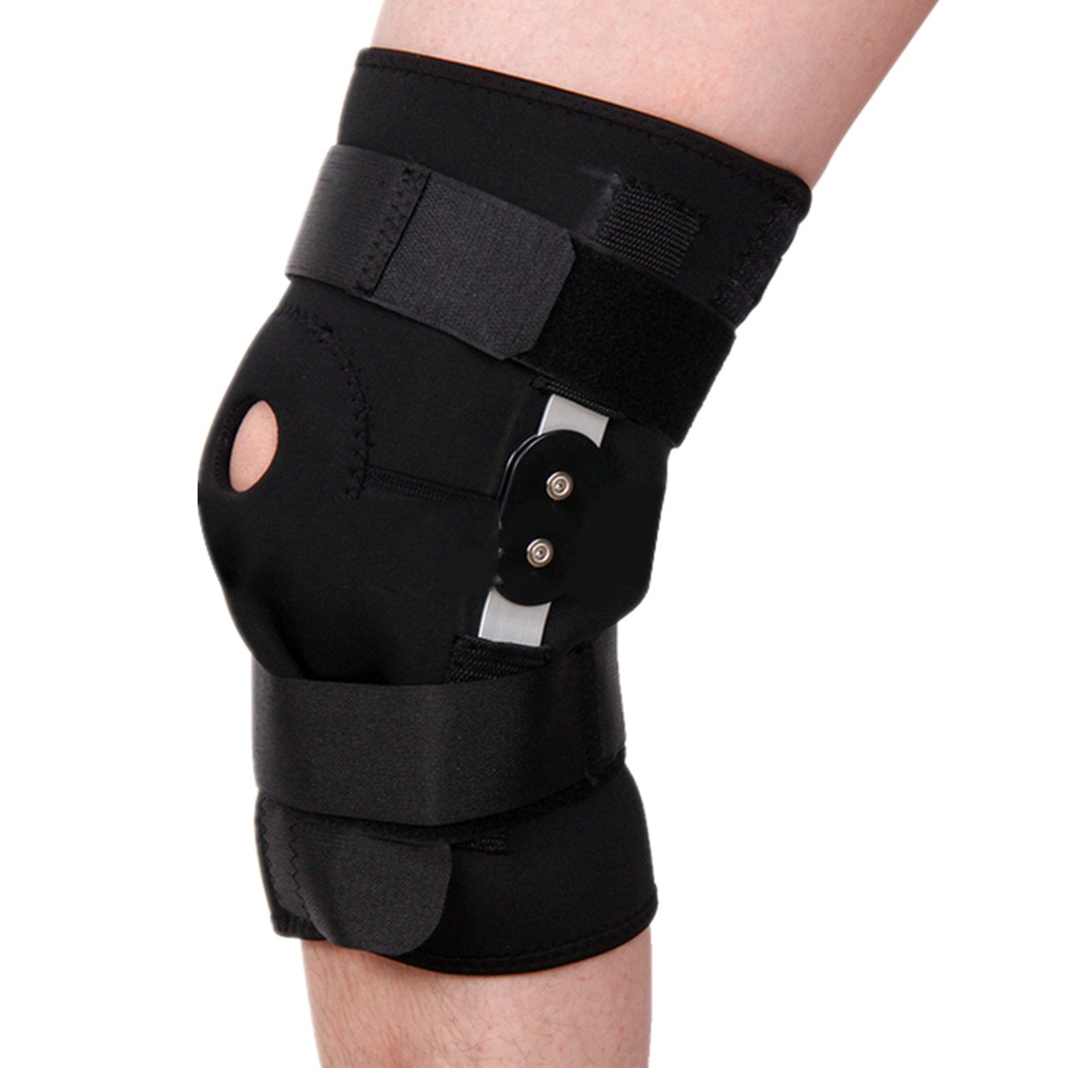 Sports Adjustable Kneepad Thigh Knee Support Brace Strap