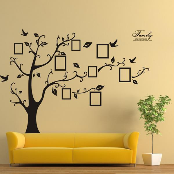 Decorative Wall Decals memory tree photo wall sticker living room home decoration