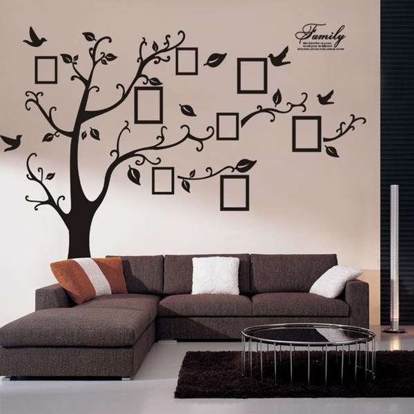 Decorative Wall Stickers memory tree photo wall sticker living room home decoration