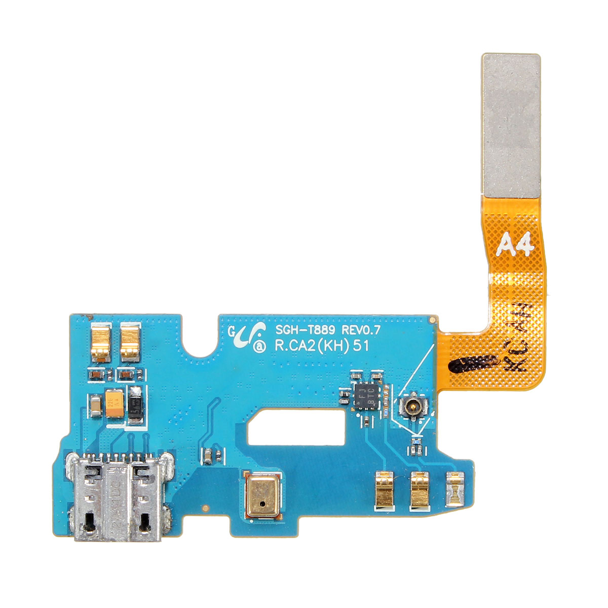 USB Charging Port USB Connector Flex Cable for Samsung Note 2 SGH-T889