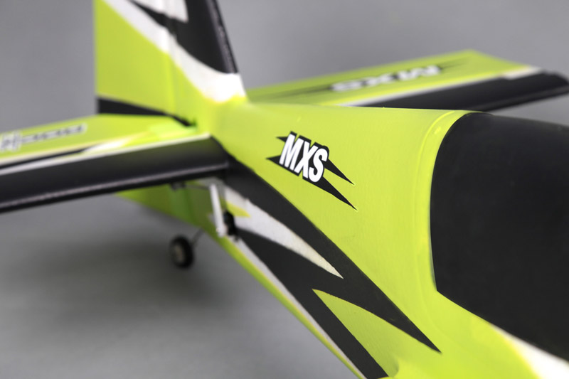 RocHobby MXS V2 Green 1100mm Wingspan 3D Aerobatic RC Airplane PNP