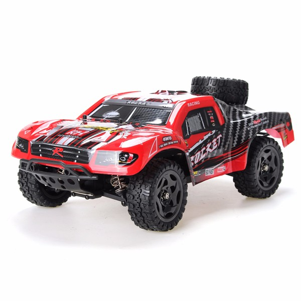 Buy REMO 1/16 RC Short Course Truck Car Kit With Shell Without Electronic Parts