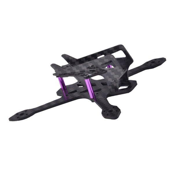 Awesome Q100 100mm FPV Racing Frame Kit RC Drone 2mm Arm Carbon Fiber 16g